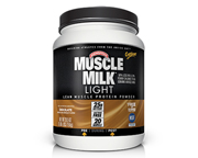 CYTOSPORT MUSCLE MILK LIGHT PROTEINA 1.65LBS CHOCOLATE